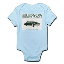 Hudson Infant Bodysuit - blue