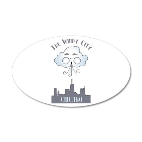 The Windy City Chicago Wall Decal