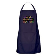 Worlds Greatest Doctor Apron (dark)