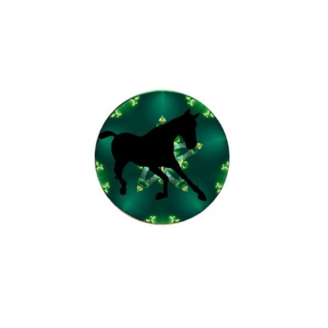 Horse Mini Button