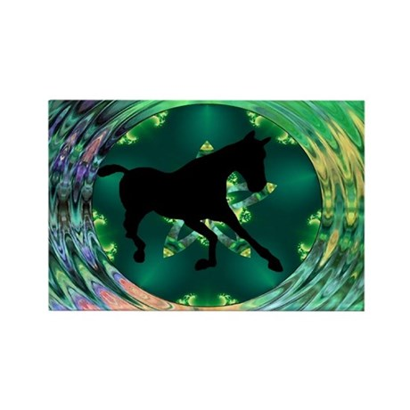 Horse Rectangle Magnet (100 pack)