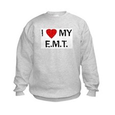 ntage I Love My EMT Sweatshirt