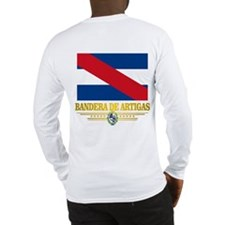 Bandera de Artigas Long Sleeve T-Shirt