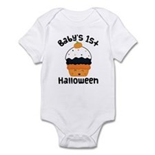 1st Halloween Candy Infant Bodysuit
