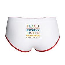 Teacher Creed Women's Boy Brief