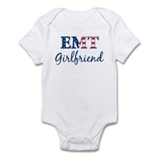 Girlfriend: Patriotic EMT Infant Bodysuit