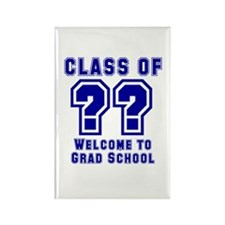 """Class of ?? Welcome..."" Rectangle Magnet"