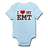 I Love My E.M.T. (basic) Infant Bodysuit