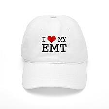 I Love My E.M.T. (basic) Baseball Cap