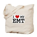 I Love My E.M.T. (basic) Tote Bag