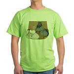 English Trumpeter Duo Green T-Shirt