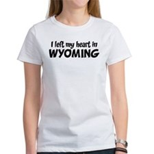 Left my Heart: WYOMING Tee