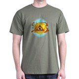 Illuminati Golden Apple T-Shirt