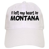 Left my Heart: MONTANA Baseball Cap