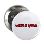 """White and Nerdy 2.25"""" Button (10 pack)"""