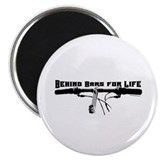 Behind Bars For Life Magnet