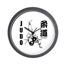 Judo Throw Wall Clock