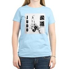 Judo Throw Women's Pink T-Shirt