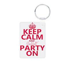 Keep Calm and Bachelorette Keychains