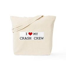 I Love My CRASH CREW Tote Bag