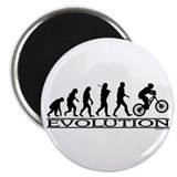 Evolution (Mt. Biking) Magnet