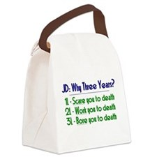 JD = Three Years Canvas Lunch Bag