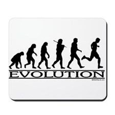 Evolution (Man Running) Mousepad