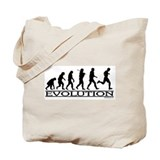 Evolution (Man Running) Tote Bag