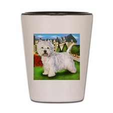 westie5 copy                            Shot Glass