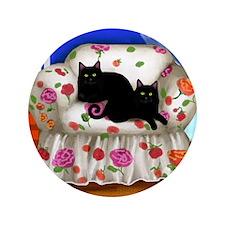 "sofa cats copy                         3.5"" Button"