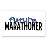 Future Marathoner Rectangle Decal