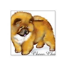 "chow1                       Square Sticker 3"" x 3"""