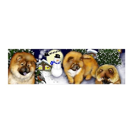 chowchow2 copy                     20x6 Wall Decal