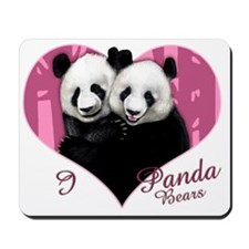 pandalove copy                           Mousepad