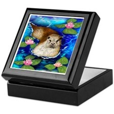 otter copy                            Keepsake Box