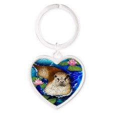 otter copy                          Heart Keychain