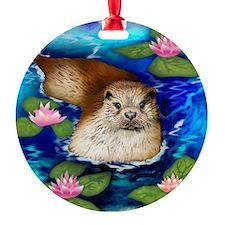 otter copy                          Ornament