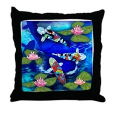 koi copy                              Throw Pillow
