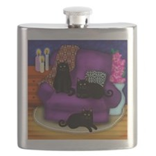 catsflowercandles copy                       Flask
