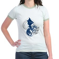 Blue Tattoo Dragon T-Shirt