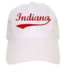 Red Vintage: Indiana Baseball Cap