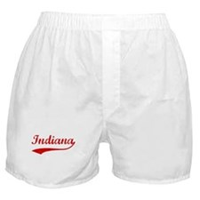 Red Vintage: Indiana Boxer Shorts