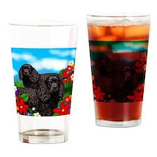 waterspanieldogs Drinking Glass