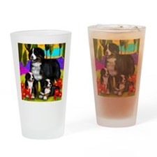 bernese8 copy Drinking Glass