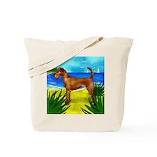 irishterrierbeach copy Tote Bag