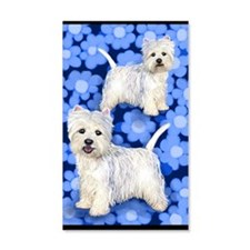 westiebluefll Wall Decal
