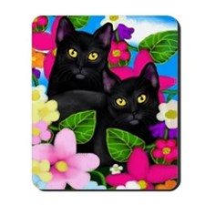 blcatsgardenlc copy Mousepad