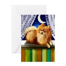 pomeranianlsw Greeting Card