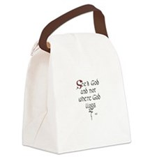 Sisoes Quotation 1 Canvas Lunch Bag