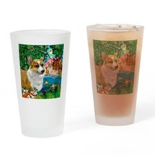 welshdogsparadise copy Drinking Glass